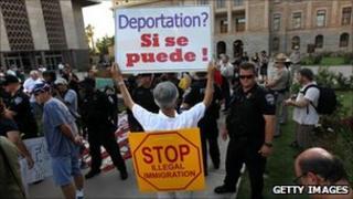 Arizona immigration rally