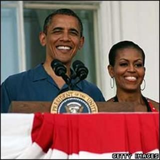 President Obama and his wife Michelle
