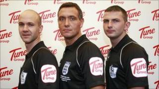 The new referees' kit