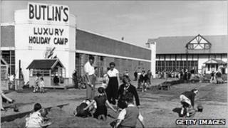 Butlins in the 1950s