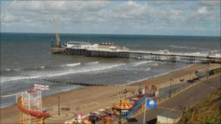 Cromer beach in Norfolk is one of those highlighted
