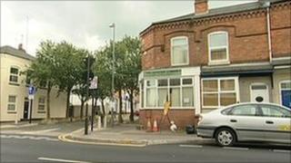 A street in East Birmingham where prayers are being said for a British couple murdered in Pakistan