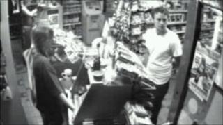 CCTV image of the Convenience Store in Brighton