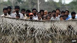 Displaced Sri Lankans, file image