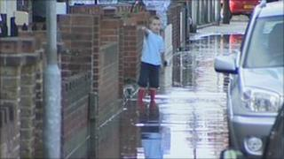 Flooding in Deal