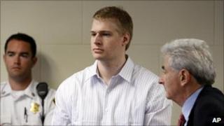 Murder suspect Philip Markoff in court - 22 June 2009