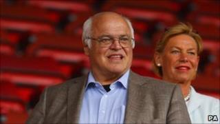 Markus Liebherr at St Mary's Stadium