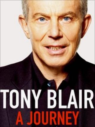 Cover of Tony Blair's book