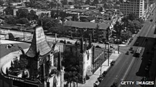 A picture of Los Angeles in 1930