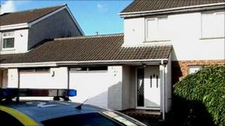 The body was discovered at a house in the Manor area of Portadown