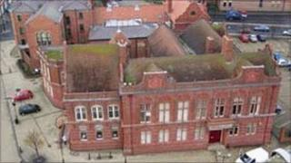 Former archive building in Hartlepool