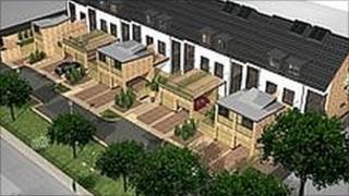 Eco homes planned for Gateshead