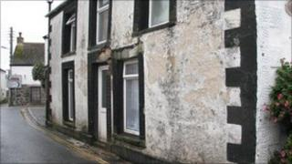 Churchtown house wall collapse