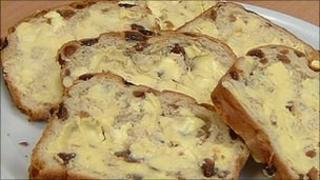 Guernsey butter on gache