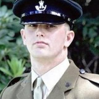 Rifleman Jonathon Allott