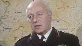 The RUC Chief Constable in 1972 was Graham Shillington