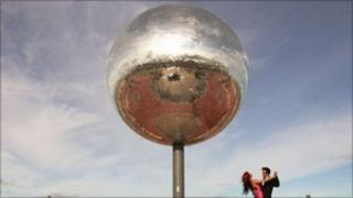 Blackpool mirror ball