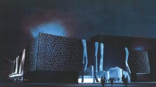 Artist's impression of the planned ice arena