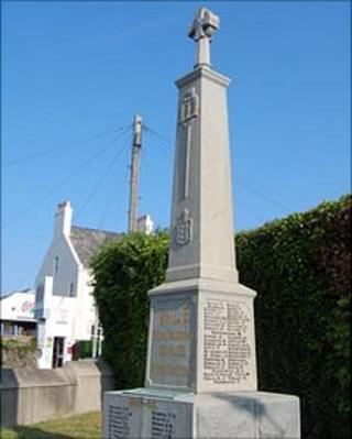 Vale war memorial