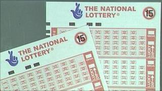 Lottery slip - library photo