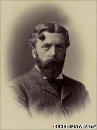 Sir D'Arcy Thompson. Pic: University of Dundee Archive Services.