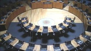 National Assembly for Wales debating chamber