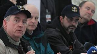 A team of Nasa experts advising trapped Chile miners