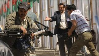 Journalists in Afghanistan