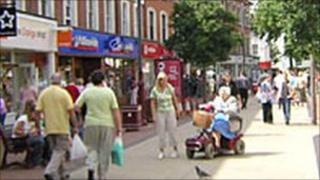 Tunbridge Wells shopping district