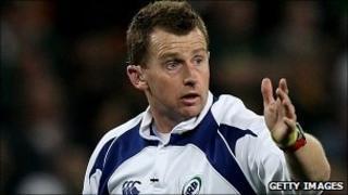 International rugby referee Nigel Owens