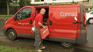 Connaught employee in Plymouth