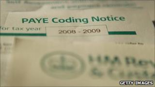 HMRC coding notice