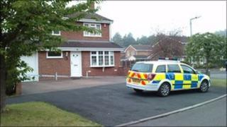 Area in Leegomery sealed off by police - archive image