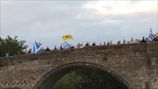 Stirling Bridge march/Pic: Duncan Kirkhope
