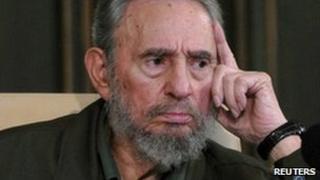 Fidel Castro presents his autobiography in Havana, 10 September