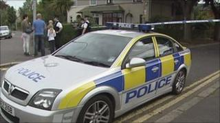 The mortar bomb was found at a house in Belmont Park in east Belfast