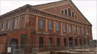 Worcester vinegar works built by Hill, Evans & Company in the 1850s and taken over by the 104th Regiment Royal Artillery volunteers on 19 September