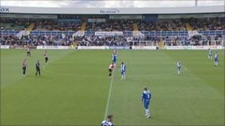Hartlepool United's Victoria Ground
