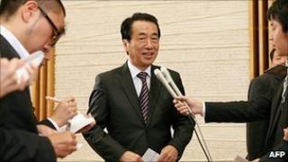 Prime Minister Naoto Kan. 16 Sept 2010