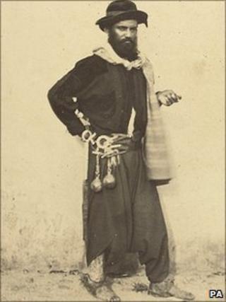 Photo from 19th Century album of Argentina