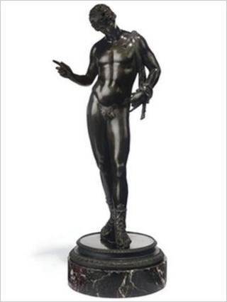 Narcissus statue