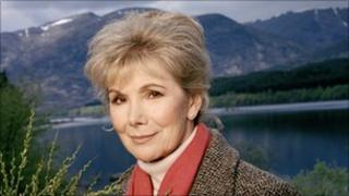 Susan Hampshire as Molly in Monarch of the Glen