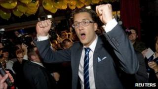 Sweden Democrats party chairman Jimmie Akesson