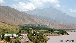 The remote Rasht Valley in eastern Tajikistan (Sohrab Zia)