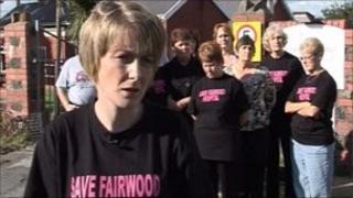 Staff at Fairwood Hospital in Swansea