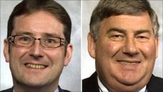 John Stewart and Jim Farquharson [Pics: Aberdeen City Council]