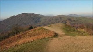 The Malvern Hills - archive image