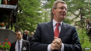 German president Christian Wulff, 9 Sept 2010