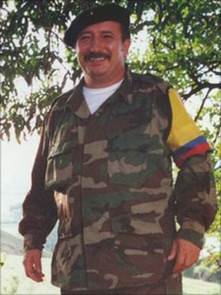 Mono Jojoy, in 2000