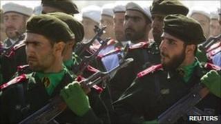 Iran's Revolutionary Guards. File photo